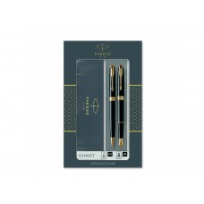 Комплект Химикалка и Писалка Паркер Parker Royal Pen Sonnet Lacquered Black GT