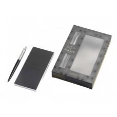 Химикалка Паркер Parker Royal Jotter Bond Street Black CT в подаръчна кутия с тефтер